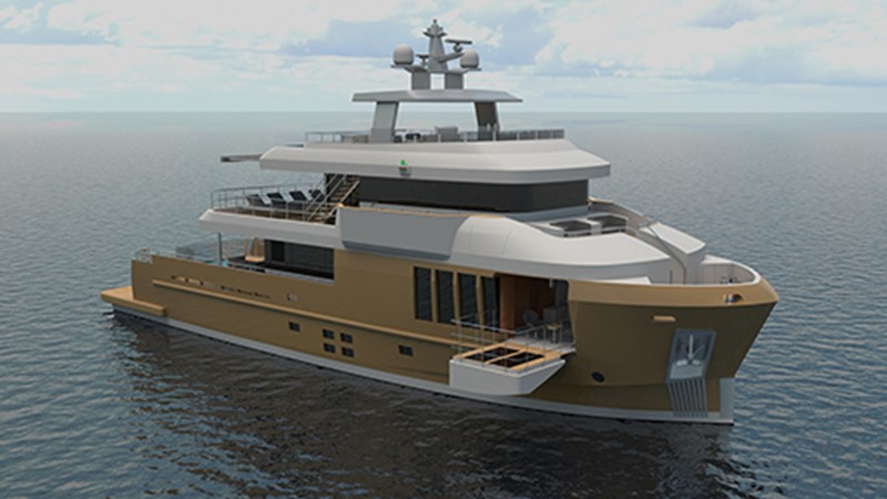2021 CUSTOM BOAT by CASA DEL MOTORE  Expedition Yacht 2586833