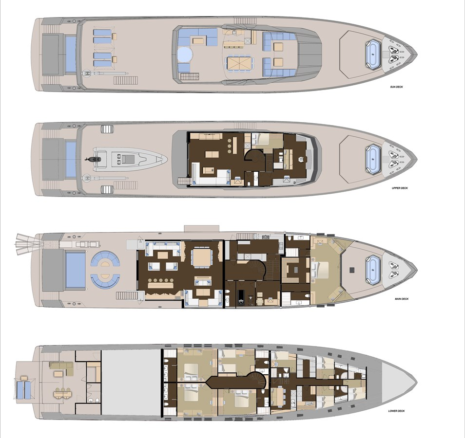 45XP-LAYOUT 2021 NUMARINE 45XP Expedition Yacht 2967544