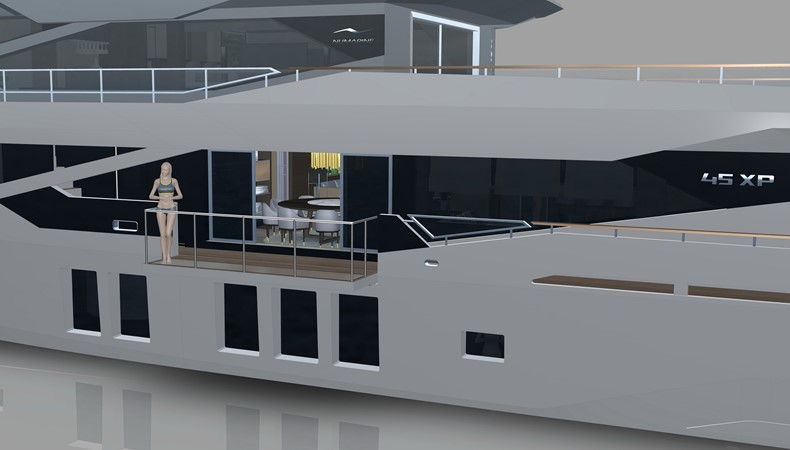 2020 NUMARINE 45XP Expedition Yacht 2549310