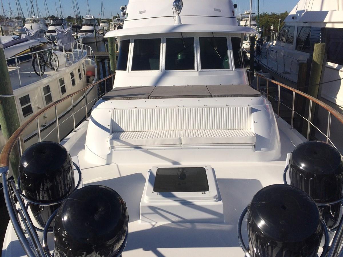 Bow Profile 1979 HATTERAS  Motor Yacht 2575570