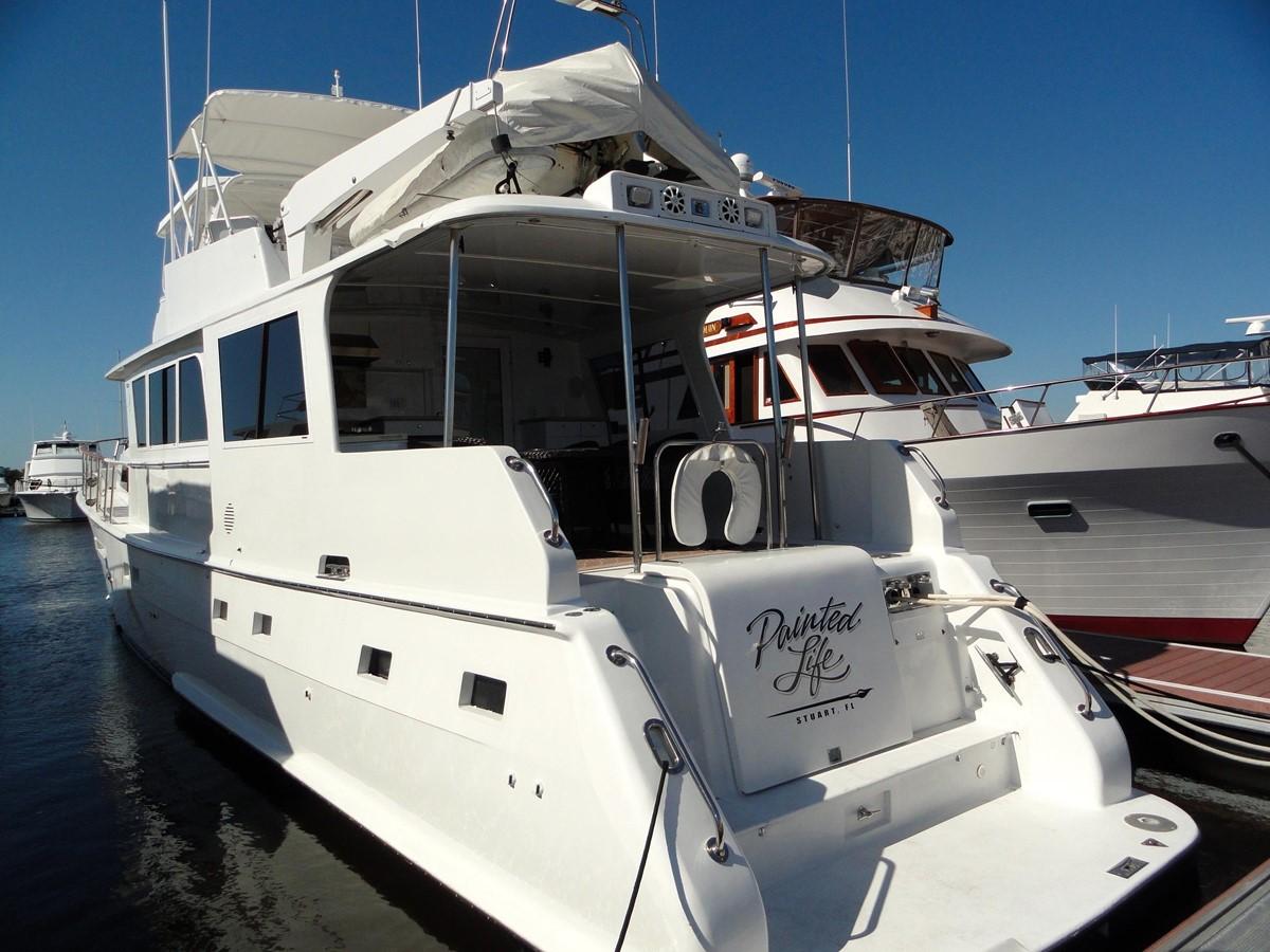 Aft Profile 1979 HATTERAS  Motor Yacht 2575572