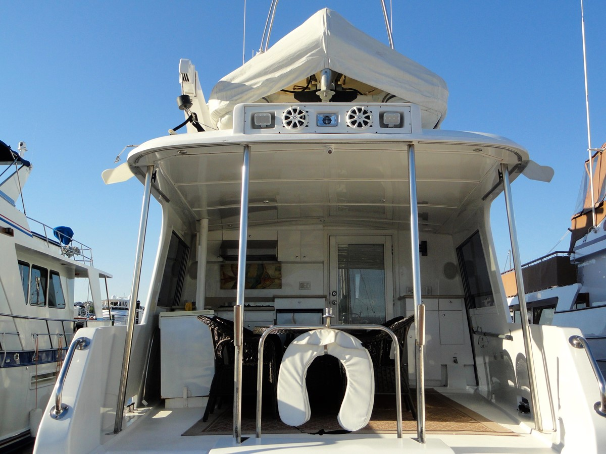 Aft View 1979 HATTERAS  Motor Yacht 2575575