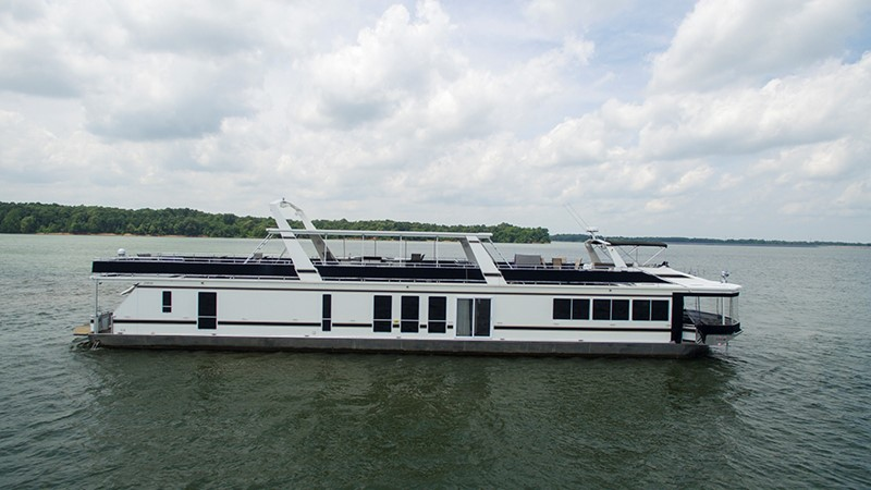 STBD profile 2007 FANTASY YACHTS 112' x 21' Houseboat 2551868