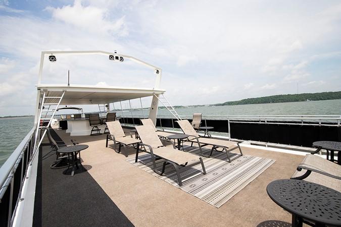 Bridge view 2 2007 FANTASY YACHTS 112' x 21' Houseboat 2551880