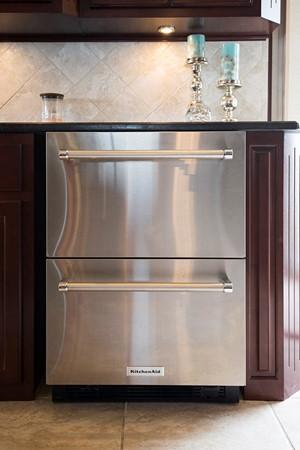 KitchenAid drawer refrigerator 2007 FANTASY YACHTS 112' x 21' Houseboat 2551905