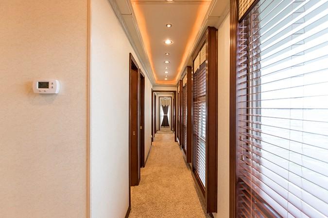 Hallway 2007 FANTASY YACHTS 112' x 21' Houseboat 2551912