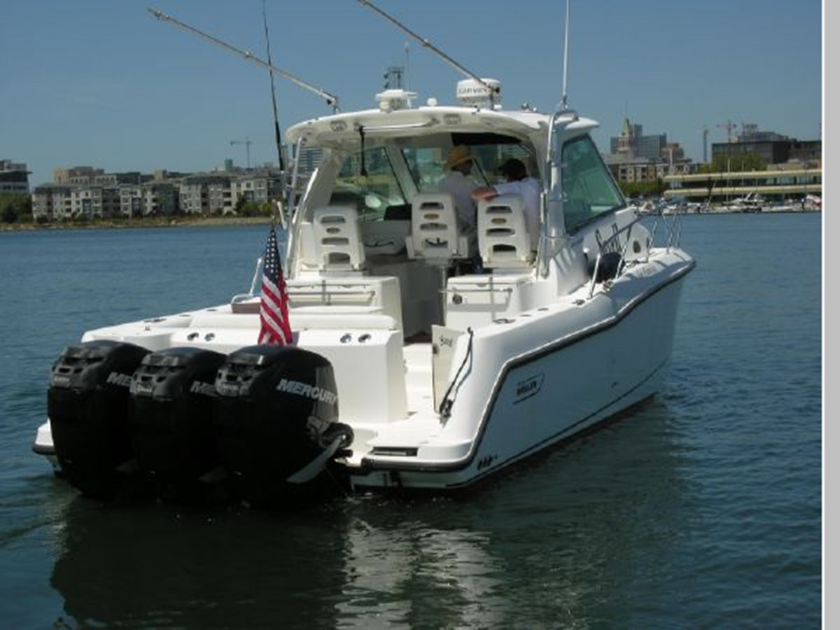 Stern 2008 BOSTON WHALER 345 Conquest Sport Fisherman 2555102