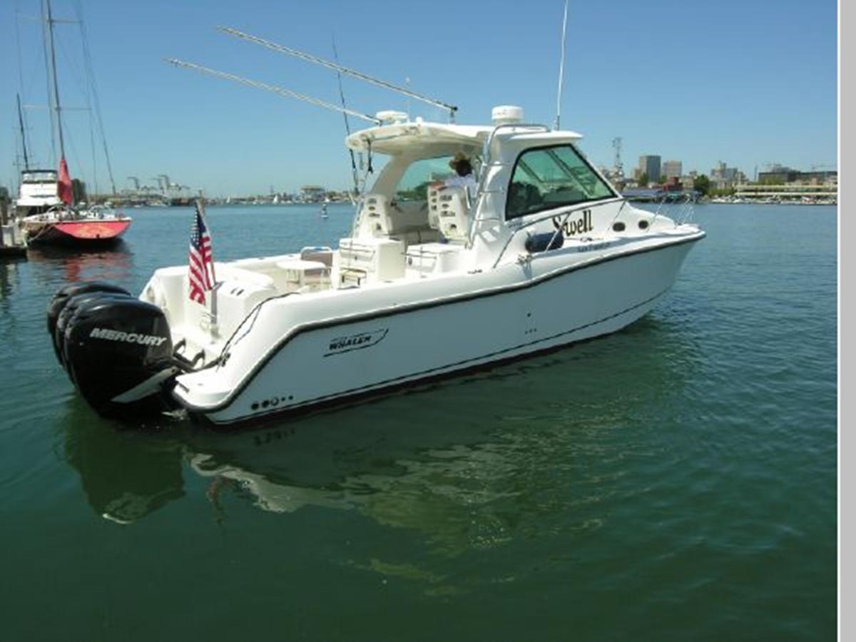 Side Starboard 2008 BOSTON WHALER 345 Conquest Sport Fisherman 2555104