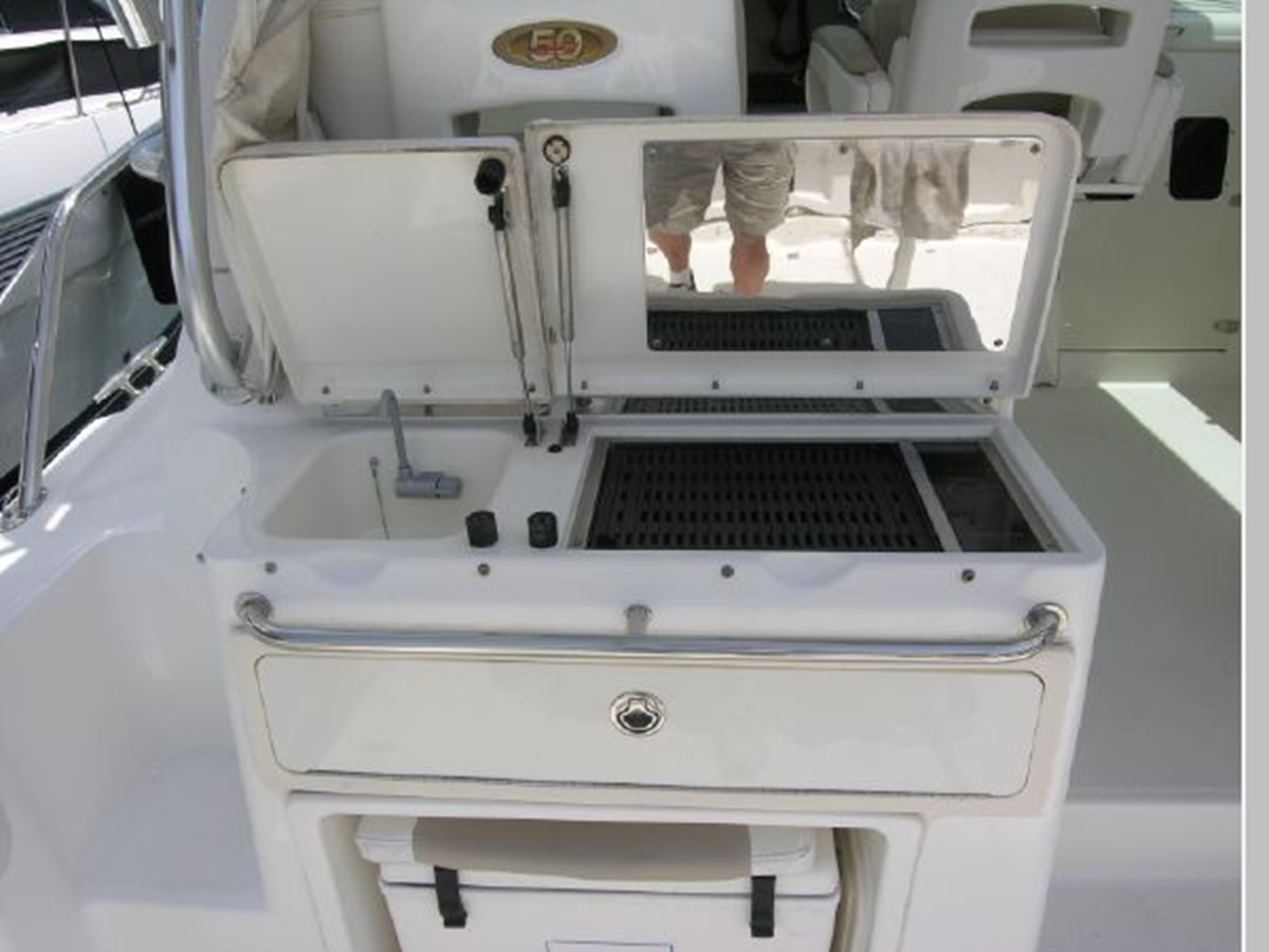 BBQ/Sink/Tackle Drawers 2008 BOSTON WHALER 345 Conquest Sport Fisherman 2555171