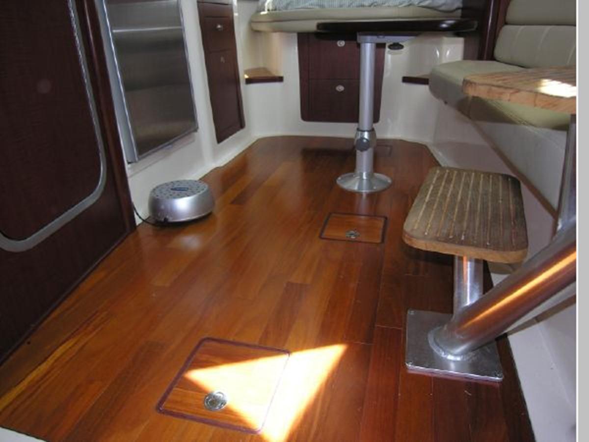 Salon/Galley Hard Wood Floors 2008 BOSTON WHALER 345 Conquest Sport Fisherman 2555184