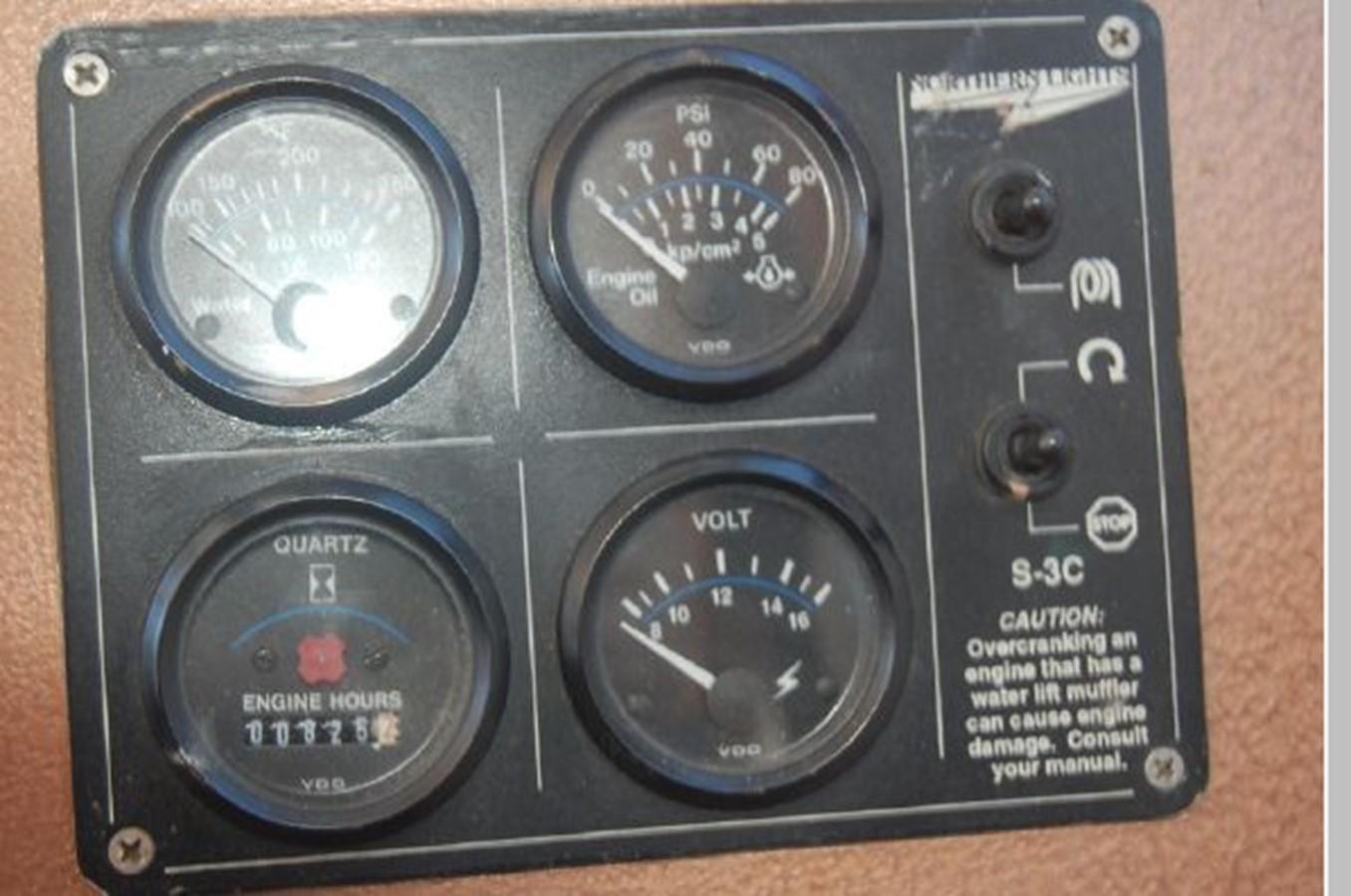 Generator Panel 1976 GRAND BANKS  Trawler 2555278
