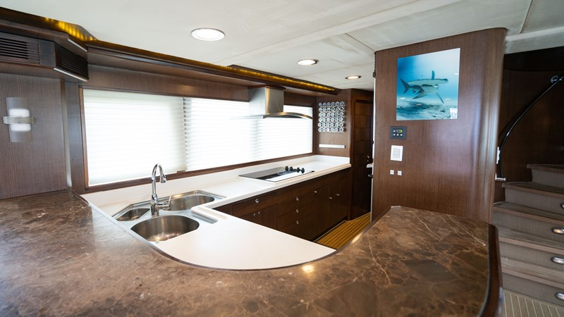Galley 2008 MCP YACHTS Europa Motor Yacht 2651786
