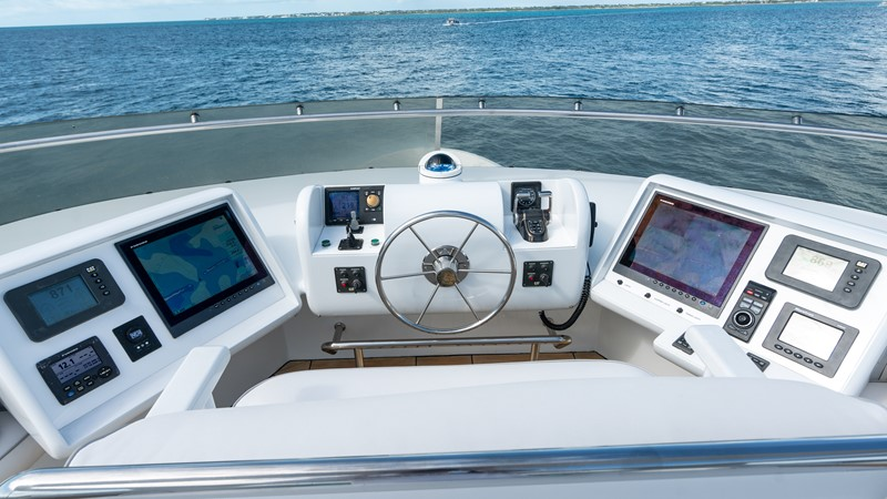 Upper Helm  2008 MCP YACHTS Europa Motor Yacht 2652071