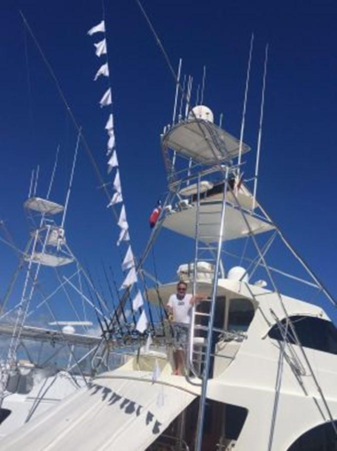 Tuna Tower 1998 PETTEGROW Custom Sport Fisherman 2558879