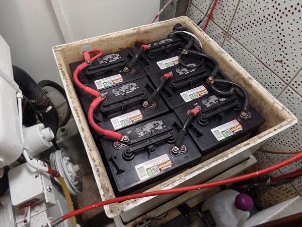 Mujuk Marine Trader 1984 Walkaround Batteries 1984 MARINE TRADER 50 Walkaround Walkaround 2558528