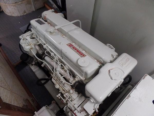 Mujuk Marine Trader 1984 Walkaround Port Engine 1984 MARINE TRADER 50 Walkaround Walkaround 2558554