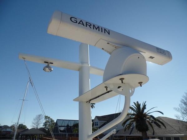 Mujuk Marine Trader 1984 Walkaround Radar Mast 1984 MARINE TRADER 50 Walkaround Walkaround 2558559