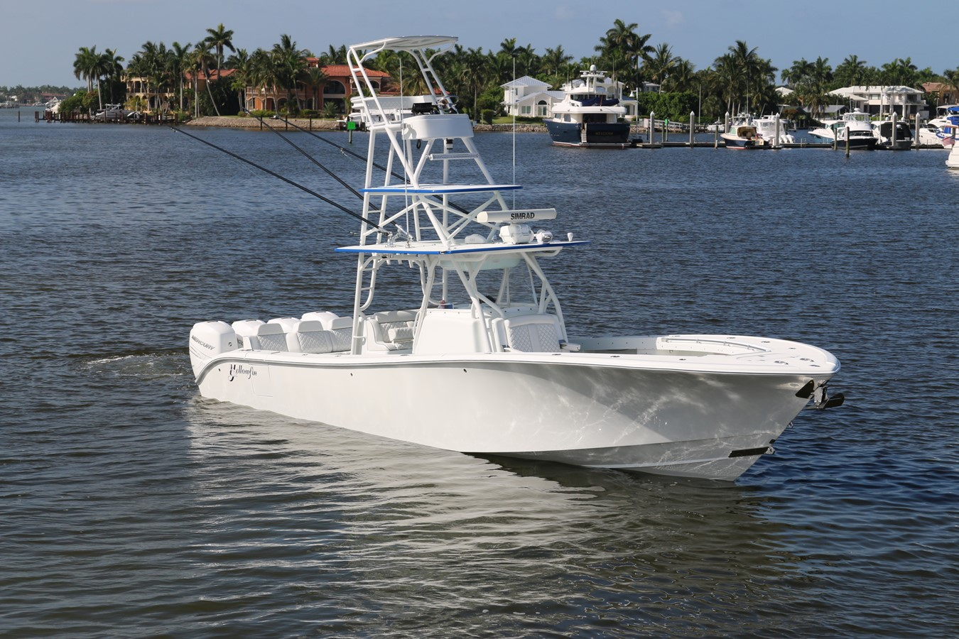 2013 YELLOWFIN 39 Center Console w/Tower Center Console 2563847