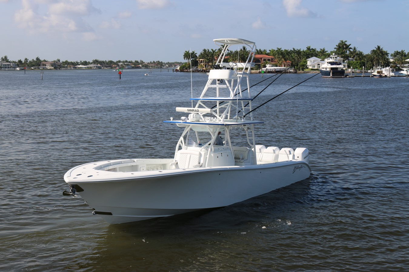 2013 YELLOWFIN 39 Center Console w/Tower Center Console 2563848