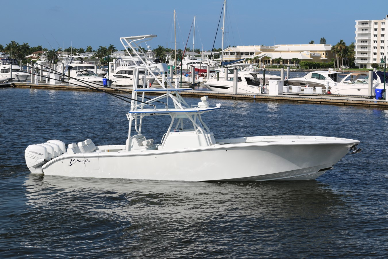 2013 YELLOWFIN 39 Center Console w/Tower Center Console 2563849
