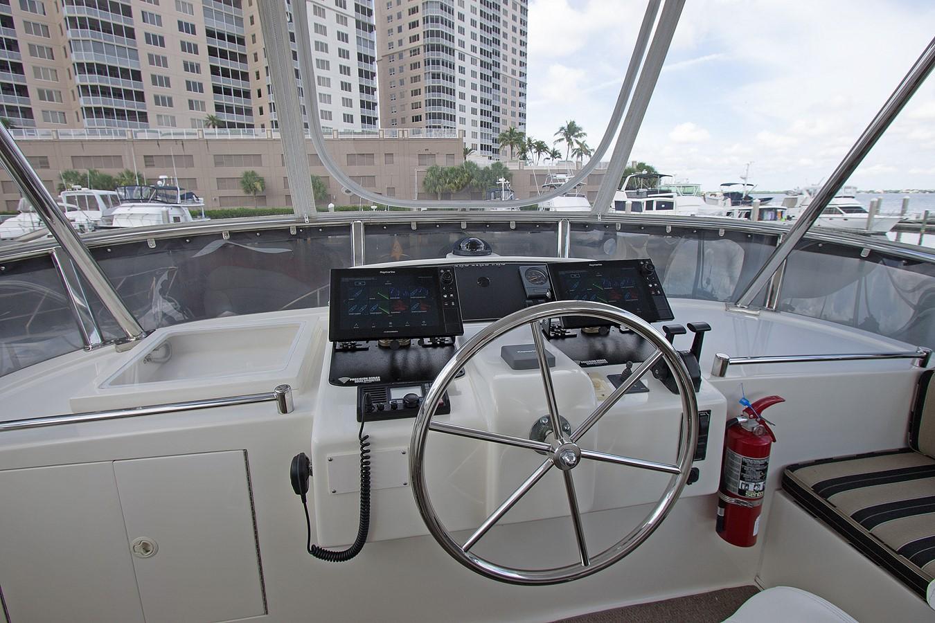 FB Helm Console 2006 OCEAN ALEXANDER Classicco Sedan Trawler 2587544