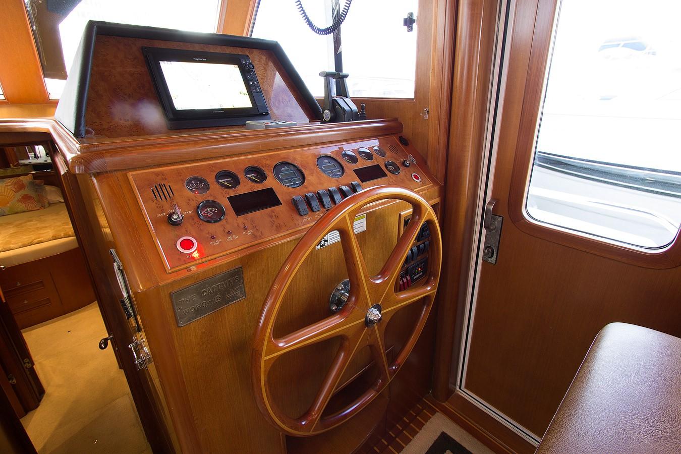 Lower Helm 2006 OCEAN ALEXANDER Classicco Sedan Trawler 2587549
