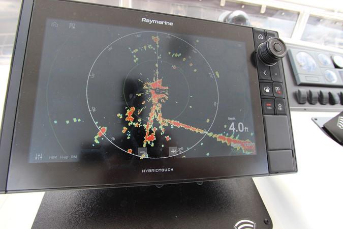 Flybridge New Axiom Port Display 2006 OCEAN ALEXANDER Classicco Sedan Trawler 2561732