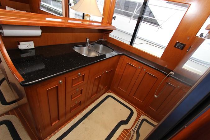 Galley Aft 2006 OCEAN ALEXANDER Classicco Sedan Trawler 2561734