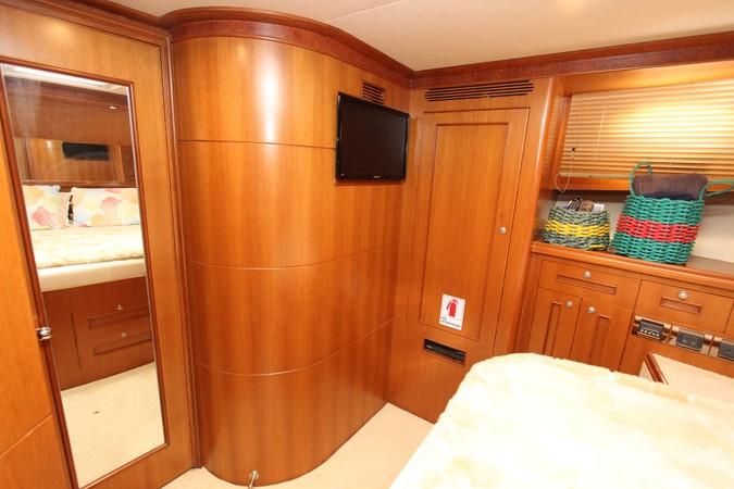 Master Stateroom Looking Aft 2006 OCEAN ALEXANDER Classicco Sedan Trawler 2561742