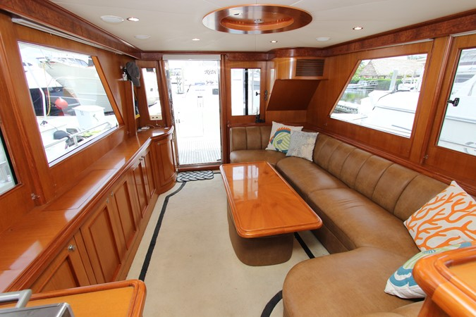 Salon Aft 2006 OCEAN ALEXANDER Classicco Sedan Trawler 2561745