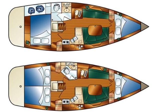 2008 HUNTER 36 Cruising Sailboat 2560578
