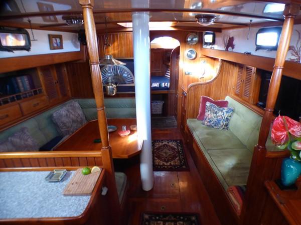 1981 FORMOSA 46 Cutter Center Cockpit Classic Yacht 2569377