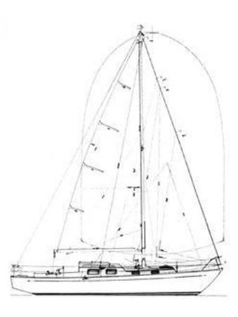 1967 TRINTELLA YACHTS  Sloop 2570010