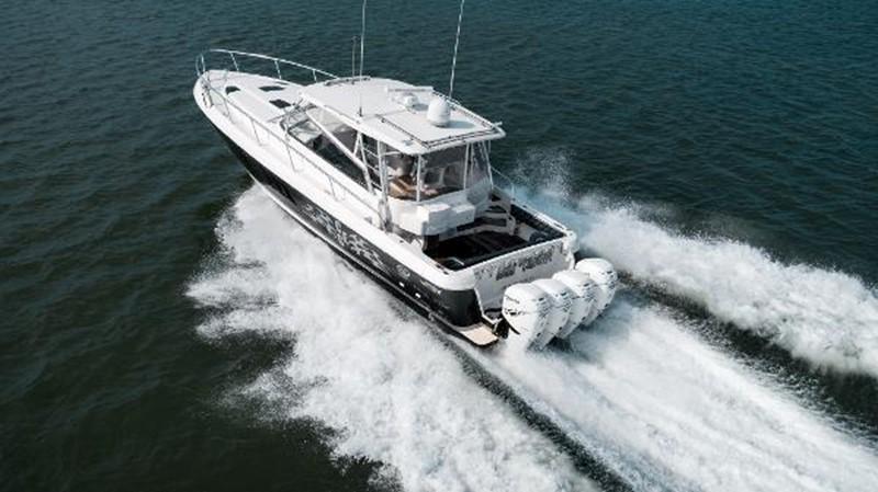 2009 INTREPID 475 Sport Yacht REPOWERED Cruiser 2572191