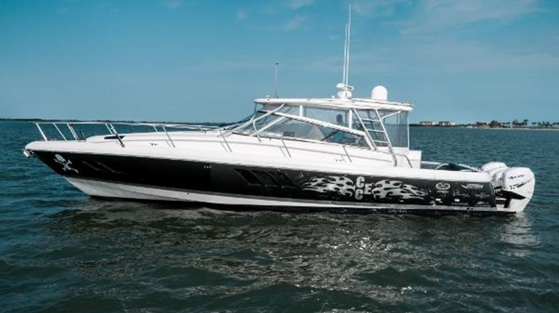 2009 INTREPID 475 Sport Yacht REPOWERED Cruiser 2572194