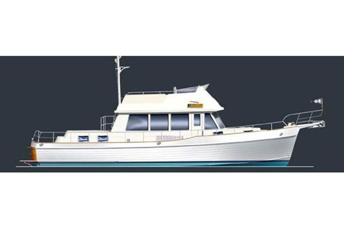 2007 GRAND BANKS 47 Heritage CL Trawler 2573210
