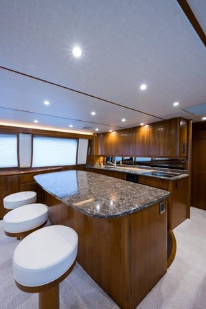 Galley 2016 VIKING Convertible with Seakeeper Sport Fisherman 2603913