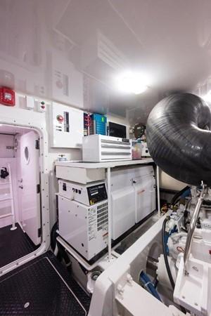 Engine Room 2016 VIKING Convertible with Seakeeper Sport Fisherman 2603967