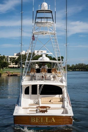 Stern 2016 VIKING Convertible with Seakeeper Sport Fisherman 2603976