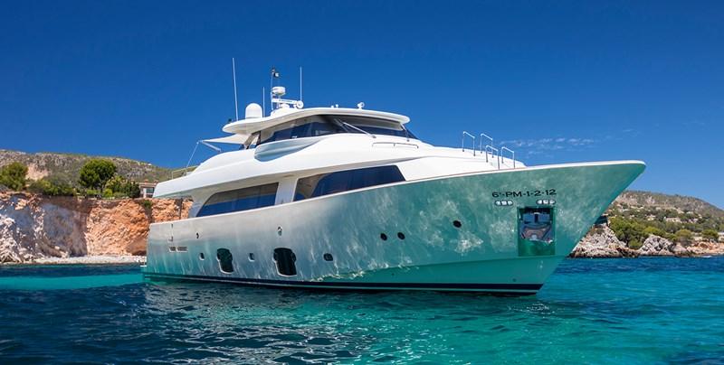 Malvasia © StuartPearce L001_1366x690px 2008 FERRETTI CUSTOM LINE Custom Line Navetta 26 Motor Yacht 2583373