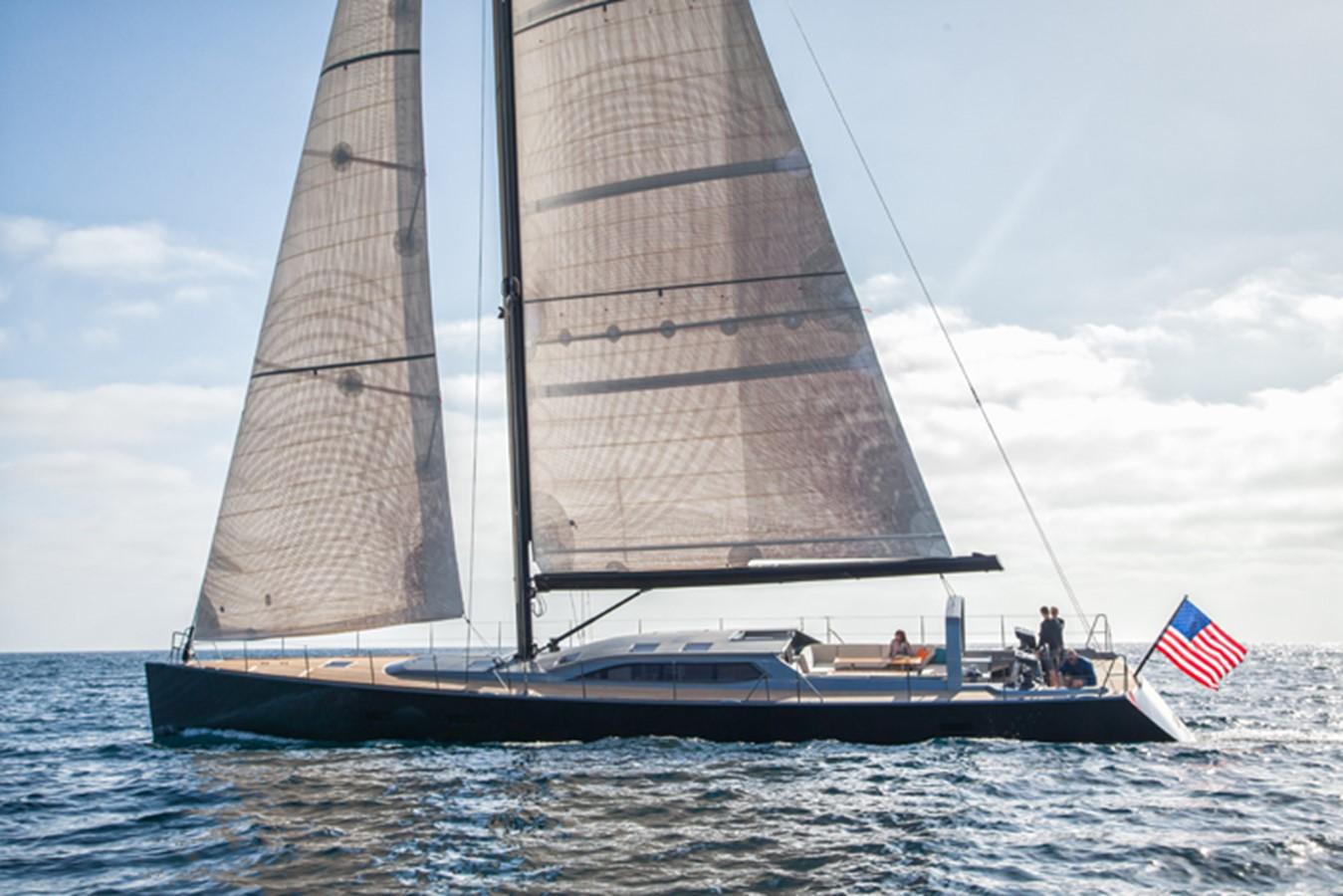 AANDEEL EXTERIOR 1996 GOETZ CUSTOM BOATS/DERECKTOR SHIPYARDS Sparkman & Stephens Designed Performance Sailing Yacht Cruising Sailboat 2585490