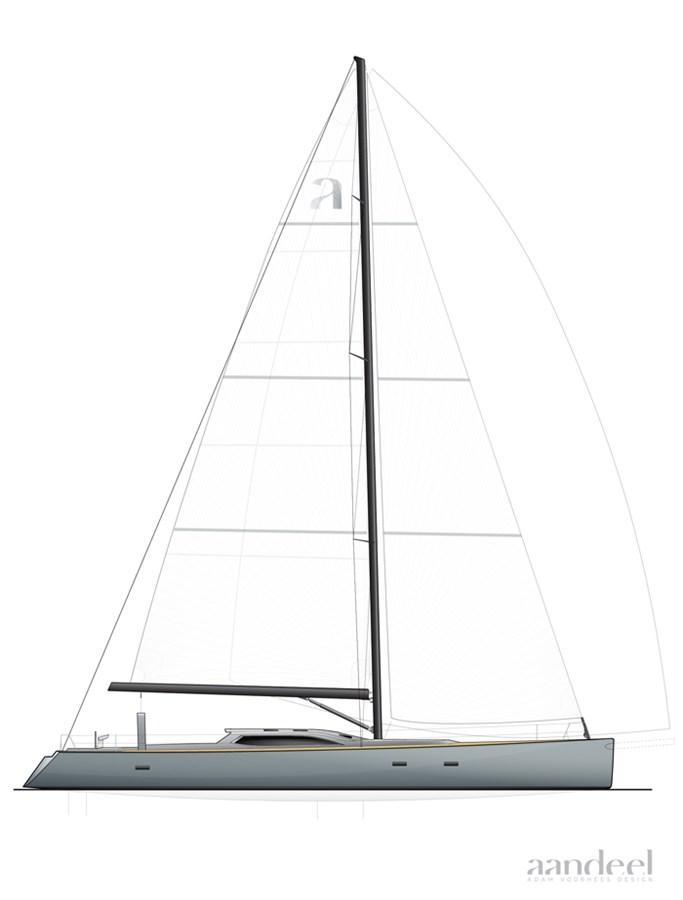 23 LAYOUT1 1996 GOETZ CUSTOM BOATS/DERECKTOR SHIPYARDS Sparkman & Stephens Designed Performance Sailing Yacht Cruising Sailboat 2743883