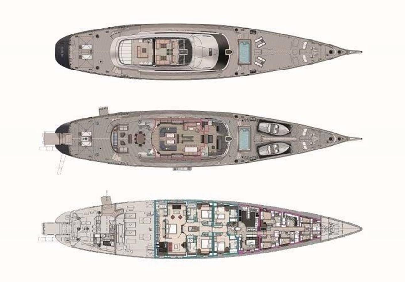 Layout 2015 PERINI NAVI  Cruising/Racing Sailboat 2595898