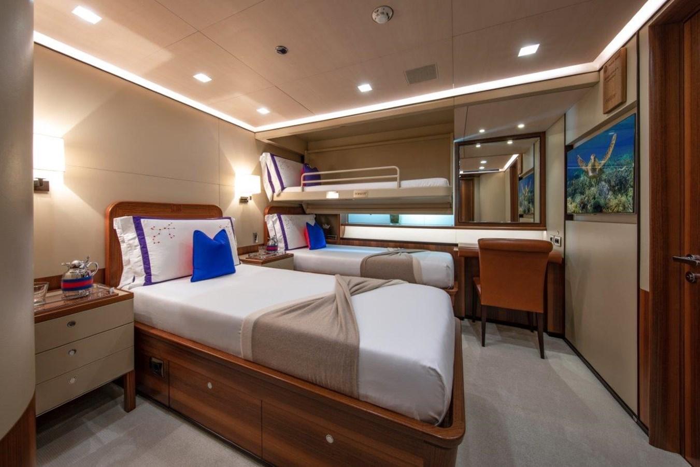 Guest Stateroom With Pilot Berth 2015 PERINI NAVI  Cruising/Racing Sailboat 2856516