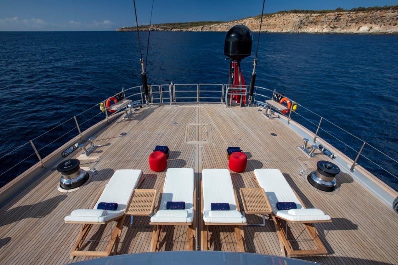 Sun Deck Looking Aft 2015 PERINI NAVI  Cruising/Racing Sailboat 2856522