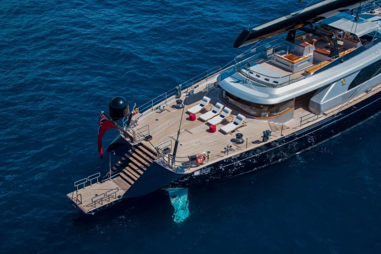 Swim Platform 2015 PERINI NAVI  Cruising/Racing Sailboat 2856539