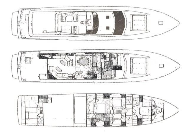 GA TIENNA 1991 GUY COUACH 2701 Motor Yacht 2588718
