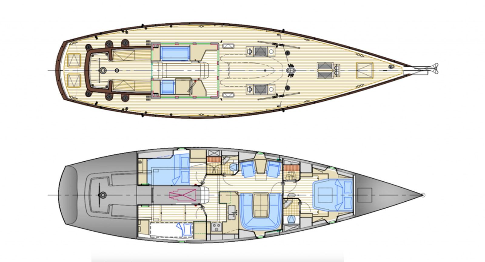 Layout_Perseveran 2012 CLAASEN SHIPYARDS Pilot Cutter Sloop 2776554