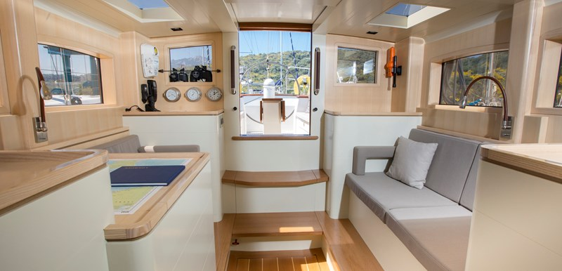deckhouse looking aft 2014 CLAASEN SHIPYARDS Pilot Cutter Sloop 2776549