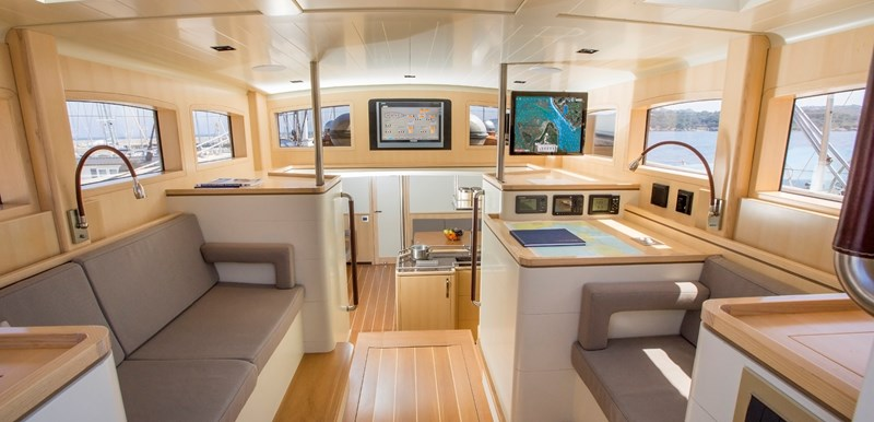 deckhouse looking forward 2014 CLAASEN SHIPYARDS Pilot Cutter Sloop 2776550